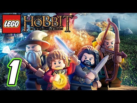 LEGO The Hobbit Video Game Walkthrough - Part 1 - (1080p) (Demo...