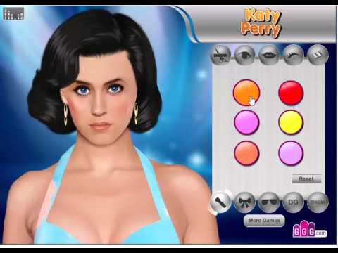 Katy Perry Makeover (Girl Game)
