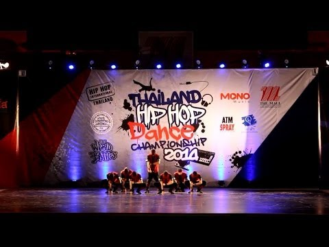 Song With Almighty  Hiphop International Thailand 2014 video