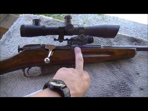 Mosin Nagant Sporter with J-Meck scope mount and ATI bolt handle