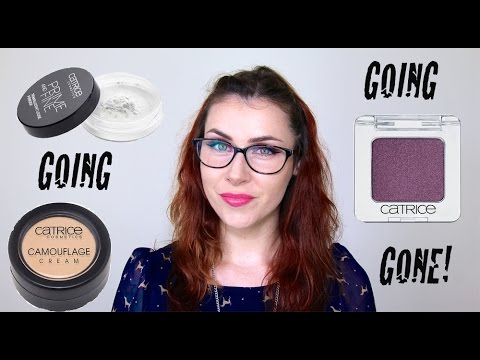 Catrice Bye-Bye's; Products being discontinued August'14.