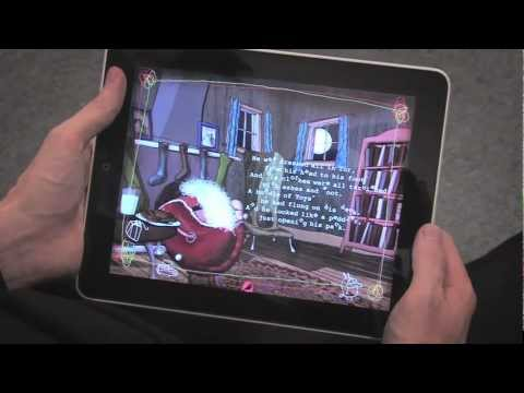 Moving Tales Twas the Night Before Christmas iPad & iPhone App