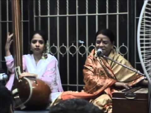 Ka karun sajni aaye na balam... famous thumri sung by Prabhati...