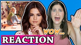 Julia Michaels Anxiety Audio Ft Selena Gomez Reaction
