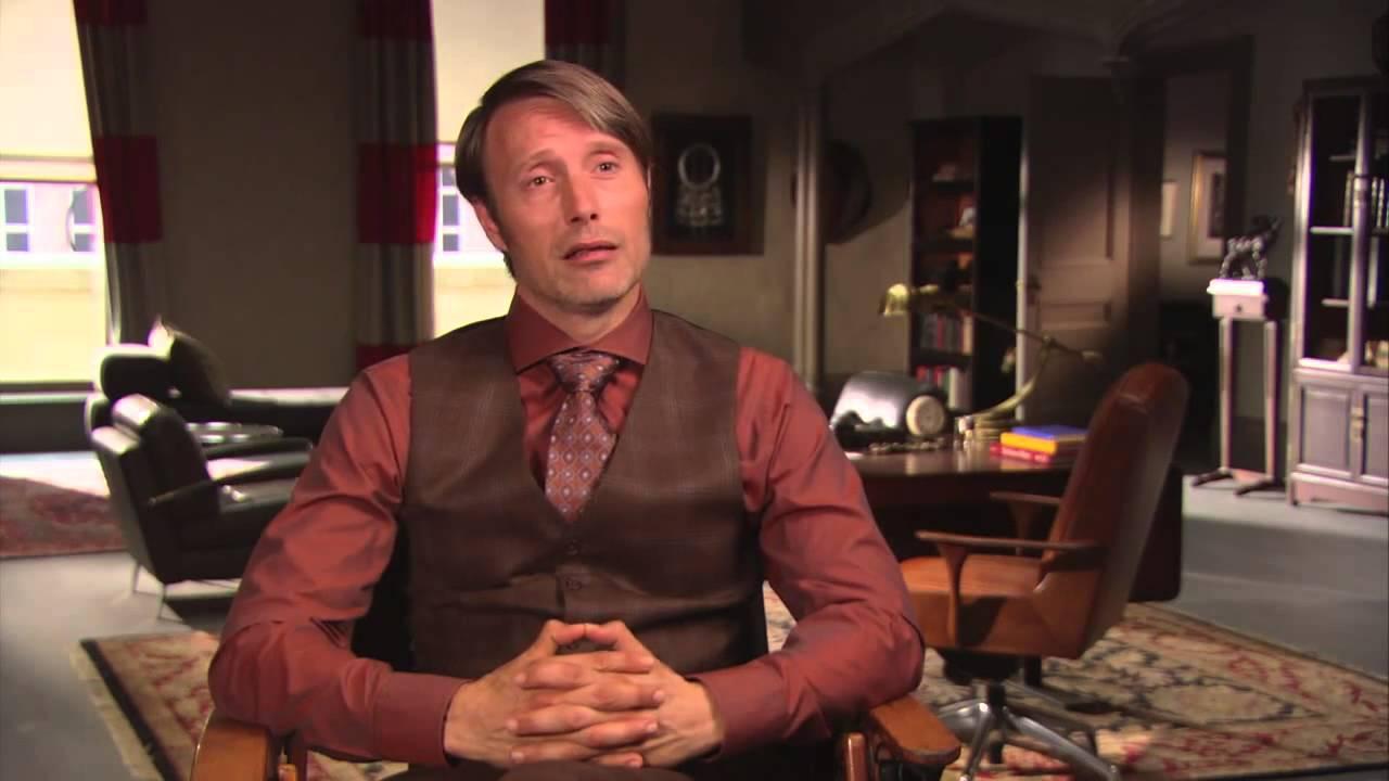 Mads Mikkelsen Interview - Hannibal - YouTube