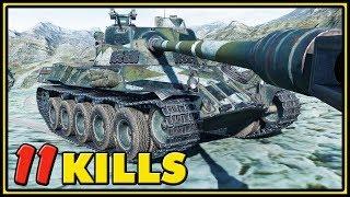 Lorraine 40 t - 11 Kills - World of Tanks Gameplay