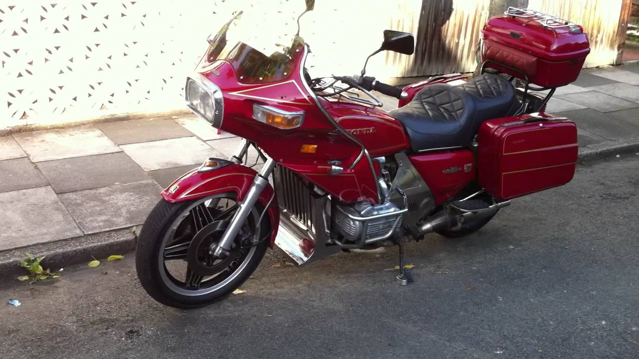 Honda Gl1100 Goldwing Interstate 1980 Youtube
