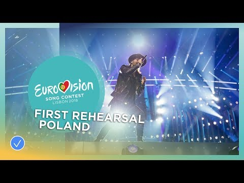 Gromee feat. Lukas Meijer - Light Me Up - First Rehearsal - Poland - Eurovision 2018