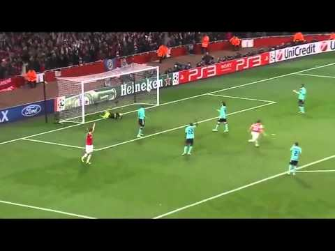 Arshavin vs Barcelona Martin tyler commentary (No effects or songs)