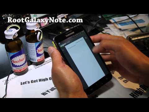 How to Root Galaxy Note GT-N7000! [Method 2][ODIN/Heimdall]