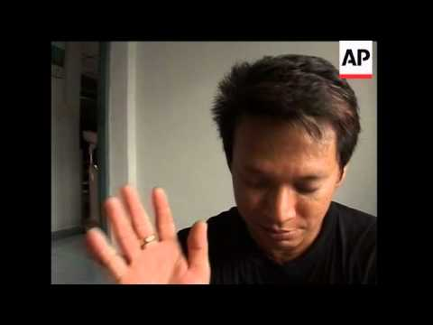 AP Feature on 'red shirt' protester in Thailand