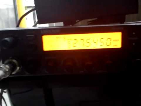 Playing with my good old Emperor TS-5010 CB-Radio