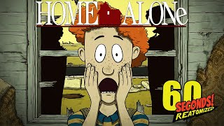 TIMMY IS HOME ALONE & HE HAS TO DEFEND THE BUNKER BY HIMSELF | 60 Seconds (Home Alone Update)