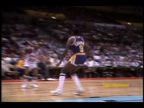 "Rookie sensation Earvin ""Magic"" Johnson has an impressive showing in his NBA debut showing glimpses of his great all-around talent. Fans were treated to a gr..."