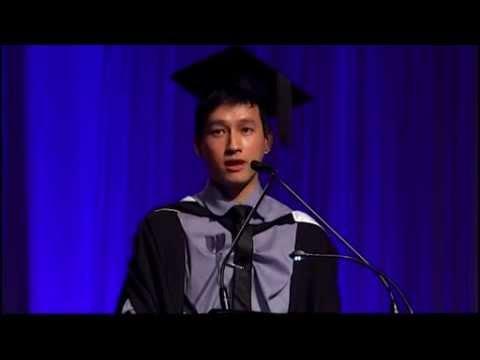 Valedictorian Speech - UQ Faculty of Science July 2014