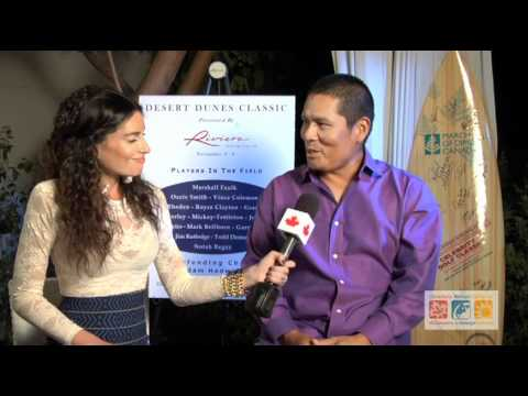 Canadians Abroad interviews Notah Begay III
