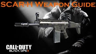 Call of Duty Black Ops 2 Weapon Guide: SCAR-H (Best Class Setup and Best Game Strategies)