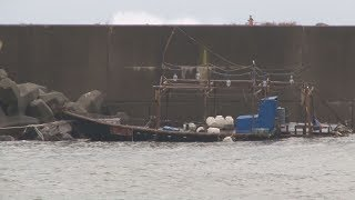 北朝鮮から木造船漂着