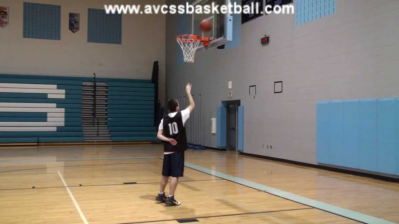 the basic steps of the lay up  right side  for youth