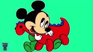 Baby Mickey Mause Toy Dinosaur Enjoyable Puzzle Game For Kids Juegos De Puzzle Para Niños
