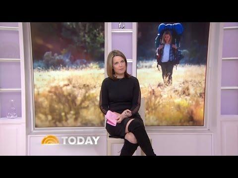 Savannah Guthrie in OTK suede boots - 7-Jan-2015