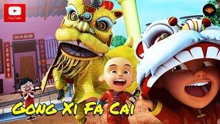 Download Lagu Upin & Ipin - Gong Xi Fa Cai [FULL] [HD] Gratis STAFABAND