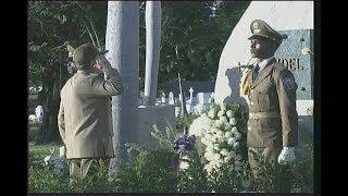 Feierliche Zeremonie für den historischen Führer der kubanischen Revolution, Oberbefehlshaber Fidel Castro Ruz
