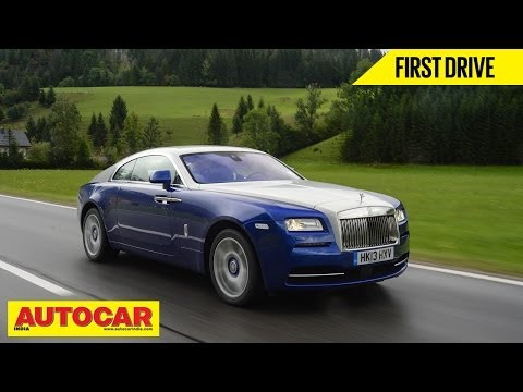 Rolls Royce Wraith   First Drive   Autocar India