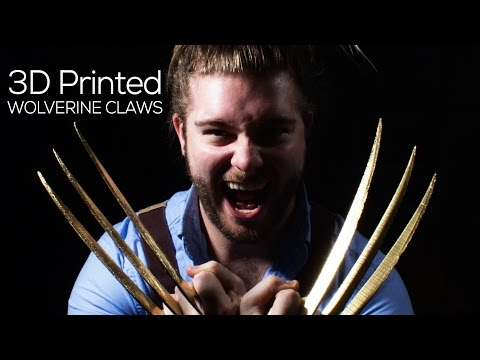 3D Printing - Wolverine Claws