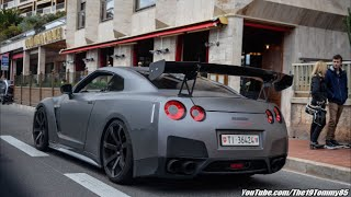 Nissan Gtr Accelerations Pure Sounds Top Marques Monaco 2015