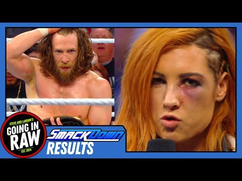 Bryan Wins WWE Title! Becky Vs Ronda OFF! | WWE Smackdown Full Results & Review | Going In Raw!