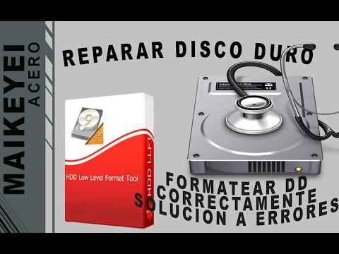 COMO REPARAR DISCO DURO DAÑADO/USB/MICRO SD ETC + FORMATEAR CORRECTAMENTE DISCO DURO EXTERNO