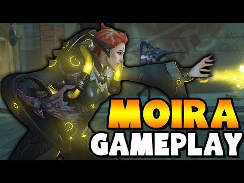 Overwatch - Moira Gameplay