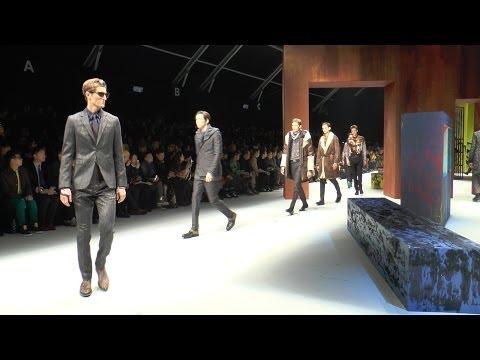 ROBERTO CAVALLI MAN FASHION SHOW F/W 2015 (backstage-Interview-runway)