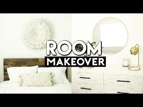 ULTIMATE PINTEREST BEDROOM MAKEOVER! EXTREME ROOM TRANSFORMATION!