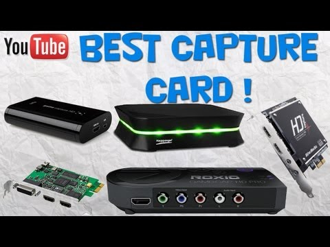 Best Capture Card For Starting YouTube Comparison Xbox / PS3 Gameplay Recorder + Prices! (New 2013)