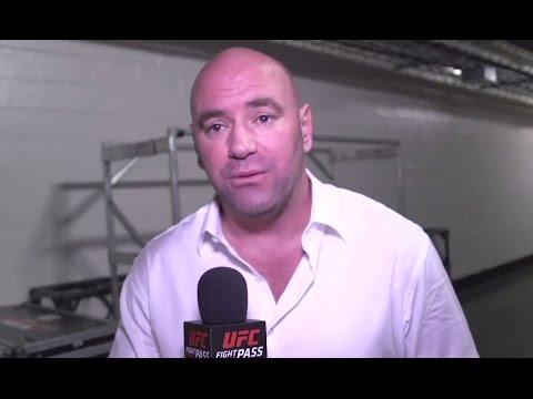 UFC 192: Dana White Backstage Interview