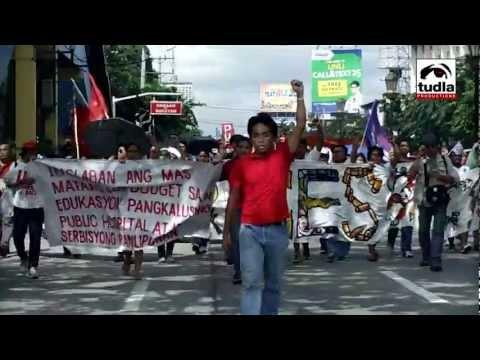 NEWSREEL: Strike Laban sa Budget Cut National Day of Action--September 23, 2011