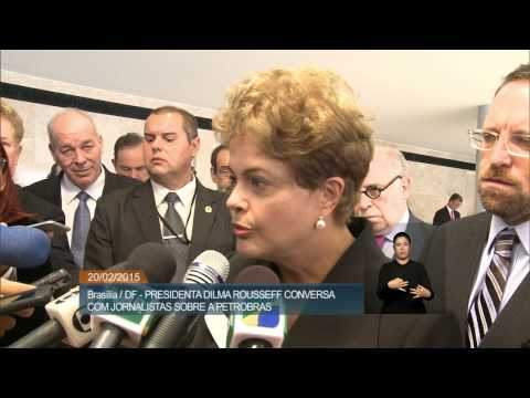 Atos ilícitos foram praticados por funcionários e não pela empresa, diz Dilma sobre Petrobras