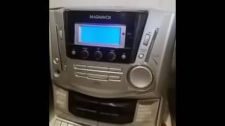 APARELHO DE SOM  MAGNAVOX CD TAPE AM FM