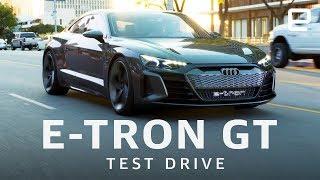 Audi E-Tron GT Test Drive