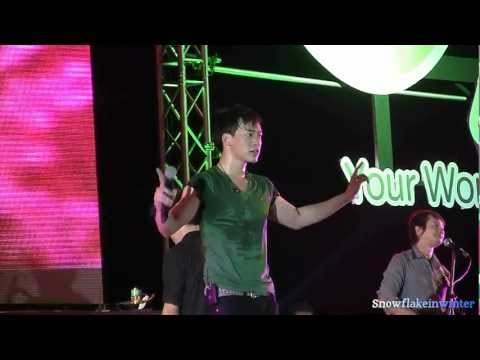 Bie @ AIS Digital Party : I Need Somebody & LLL (11-01-13) LIVE