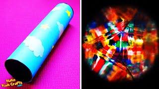 How to make a kaleidoscope? DIY