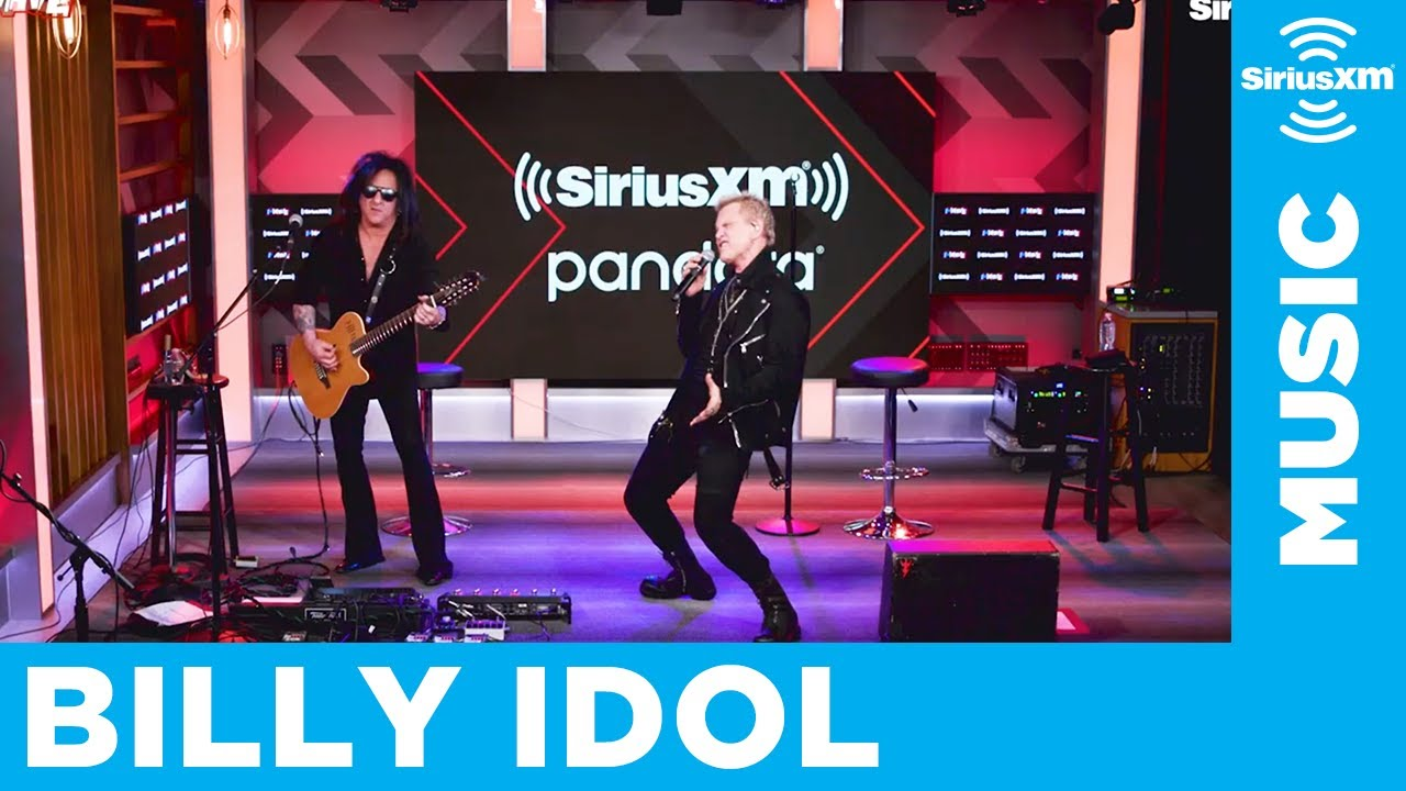 "Billy Idol & Steve Stevens - SiriusXMにてThe Kinksカバー""I'm Not Like Everybody Else""など3曲を披露 スタジオライブ映像(アコースティック)を公開 thm Music info Clip"