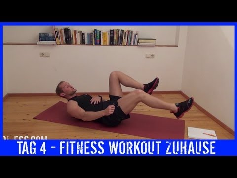 Workout - 4 - TRAINING - Fett weg Training für flachen Bauch - KARL-ESS.COM