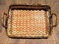 Плетение из газет квадратного дна. Часть I.