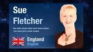 Sue talks about what each moon phase you were born under means