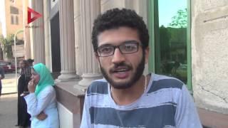 """طلاب """"معهد صحي إمبابة"""":  احتجزنا العميد عشان نمتحن.. والأمن المركزي ضربنا"""