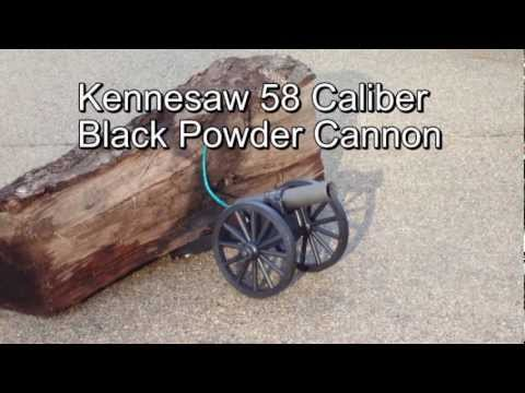 Kennesaw Black Powder Cannon