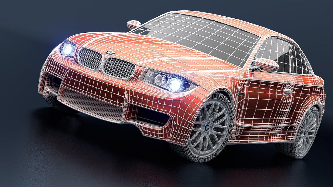 Blender 3d как сделать машину